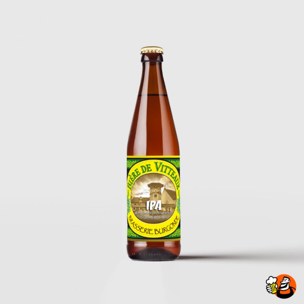 """Bière de Vitteaux \""""IPA\"""" 6x33cl"""