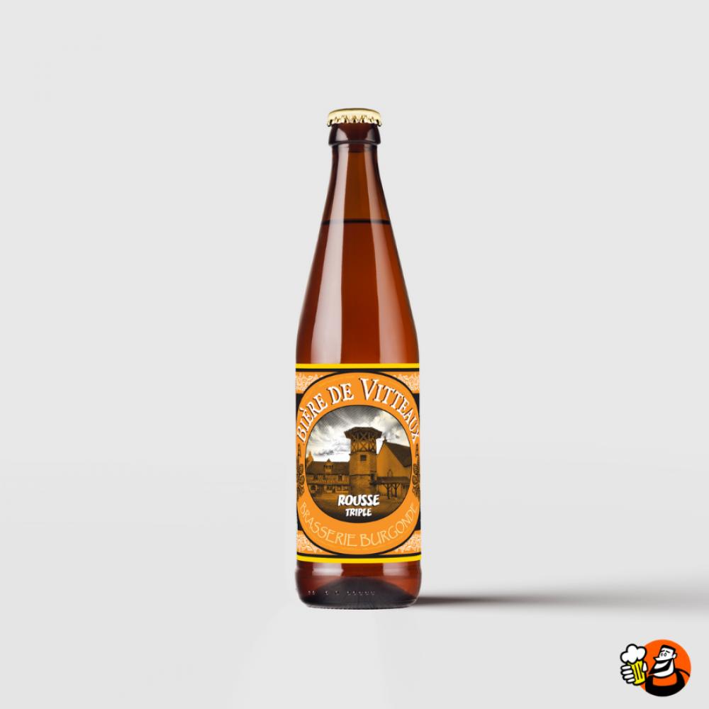 """Bière de Vitteaux \""""Rousse\"""" 6x33cl"""