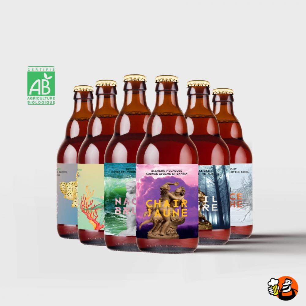Coffret bières Accords Gastronomiques 6x33cl