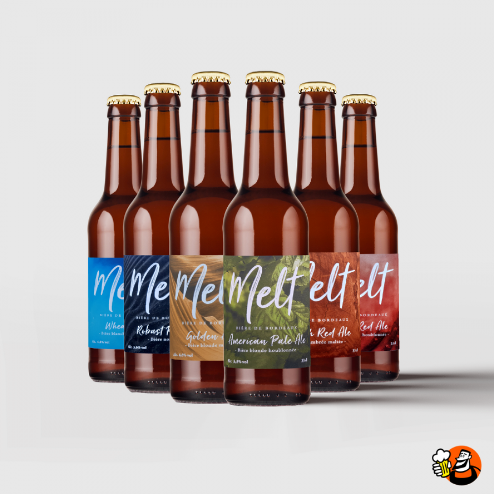 Coffret de bières - Découverte - 6x33cl