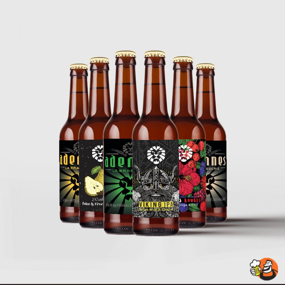 Coffret bières - Brasserie Adennes 6x33cl
