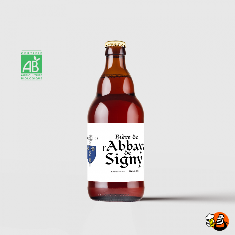 La bière de l'abbaye de Signy 12x33cl