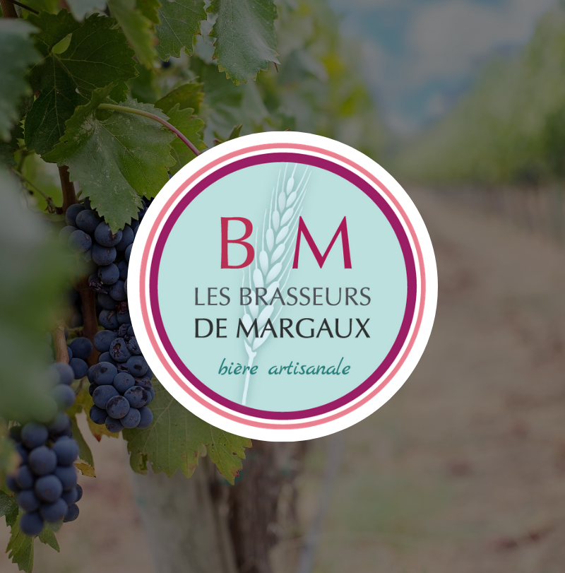 Les brasseurs de Margaux logo