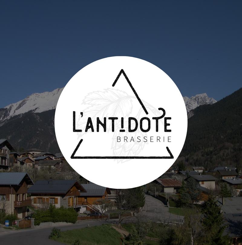 Brasserie l'Antidote logo