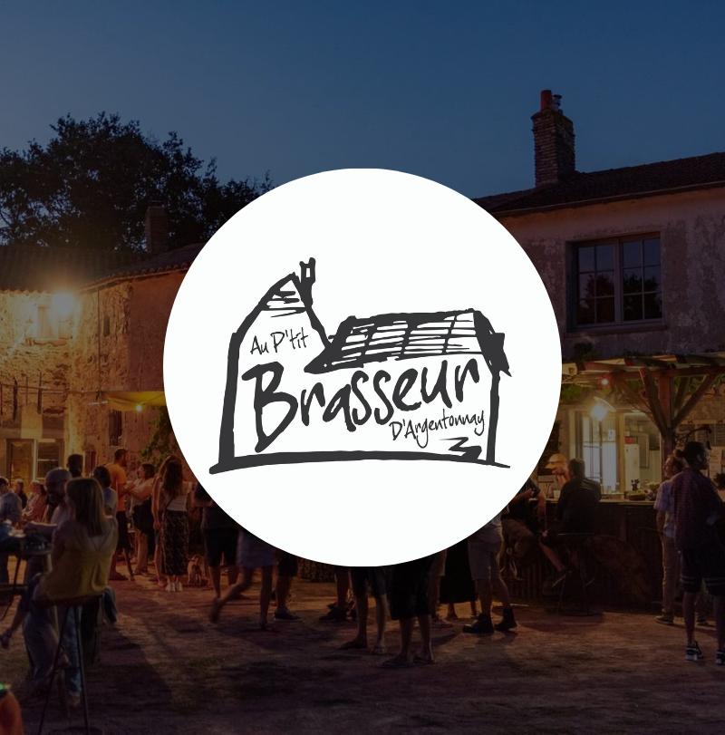 Au P'tit Brasseur d'Argentonnay logo