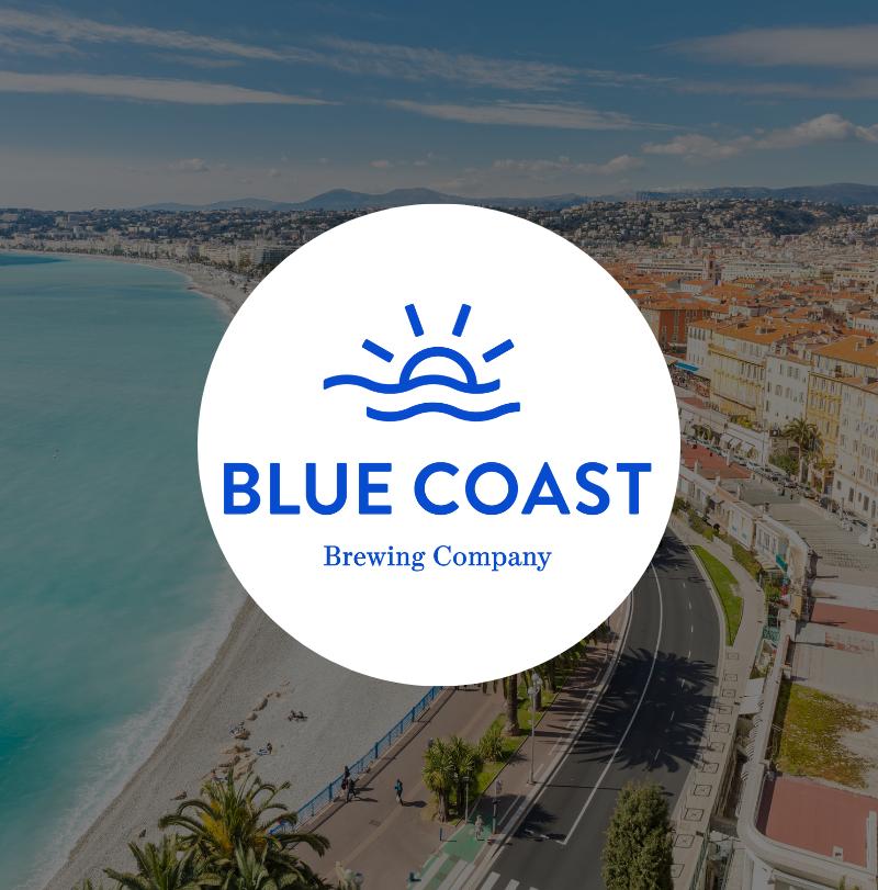 Blue Coast Brewing Company logo