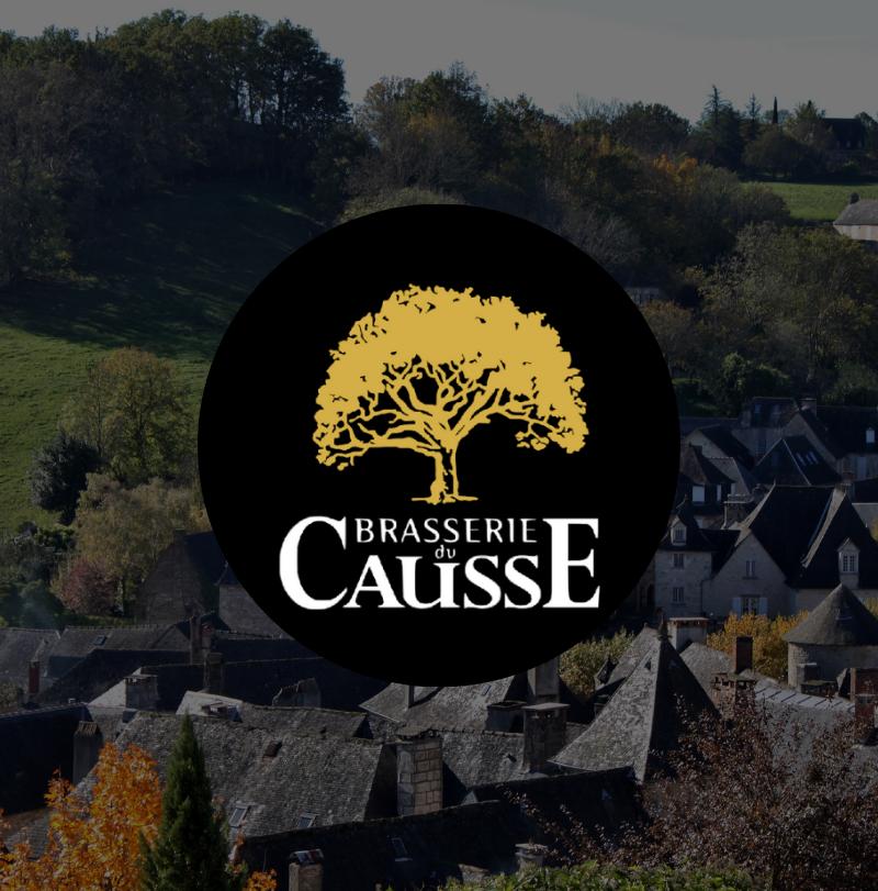 Brasserie du Causse logo