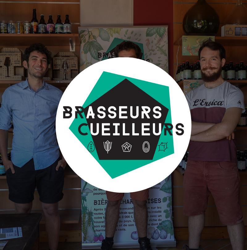 Brasseurs Cueilleurs logo