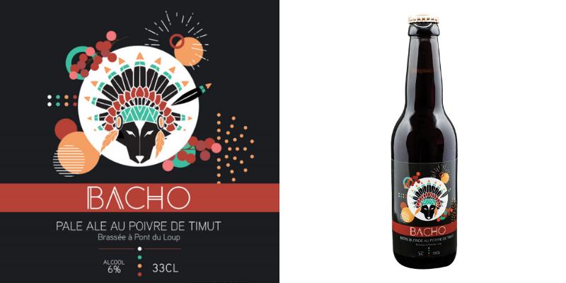 Bière Blonde au poivre de Timut