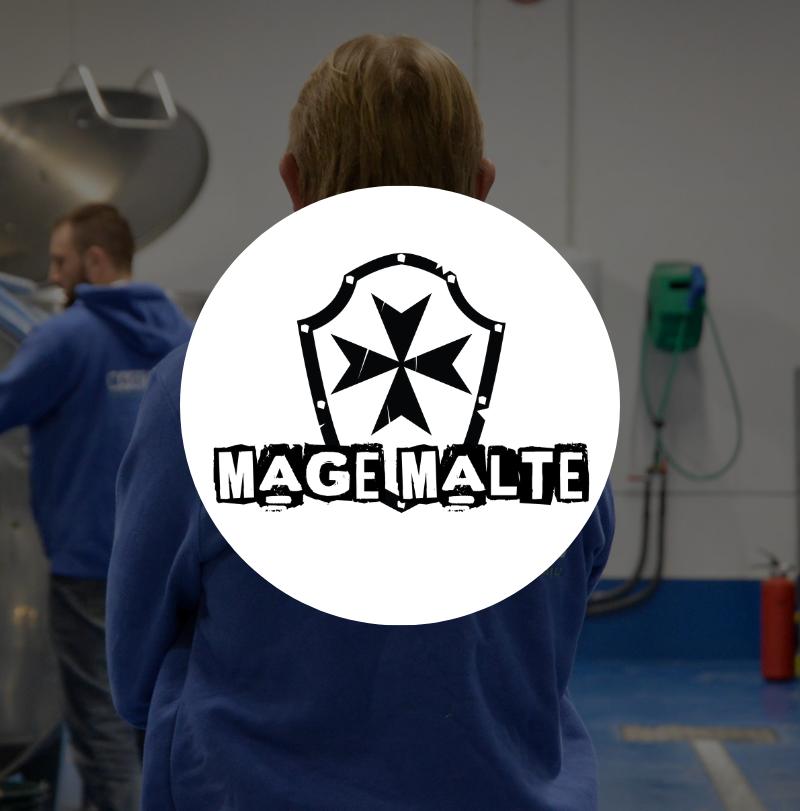 Brasserie Mage Malte logo