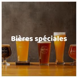 verres de bieres speciales fruit et epices
