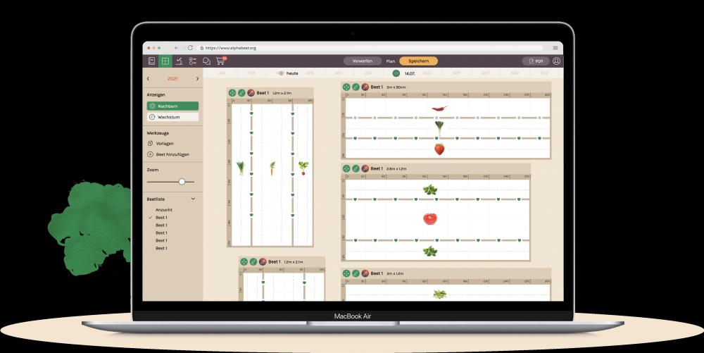 alphabeet - die kostenlose App für den Gemüsegarten.