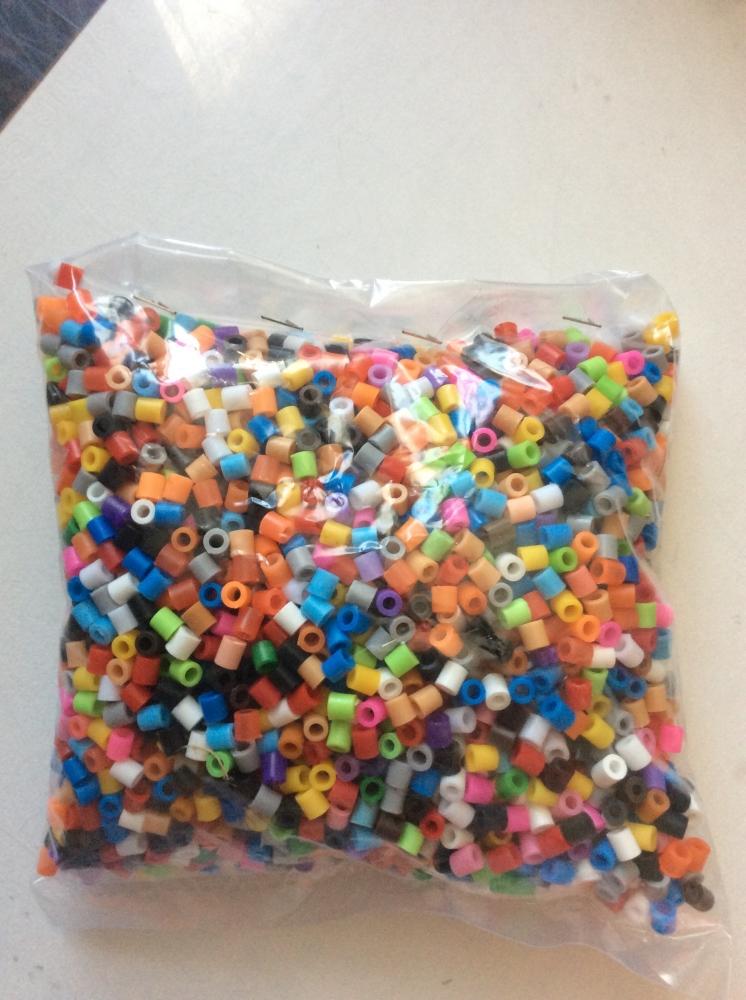Perles à repasser avec plaques
