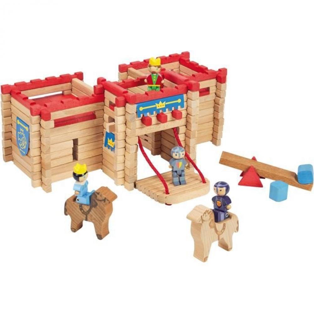 Chateau-fort en bois à construire