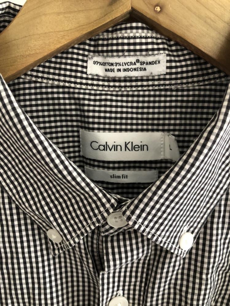 Checked Calvin Klein Shirt