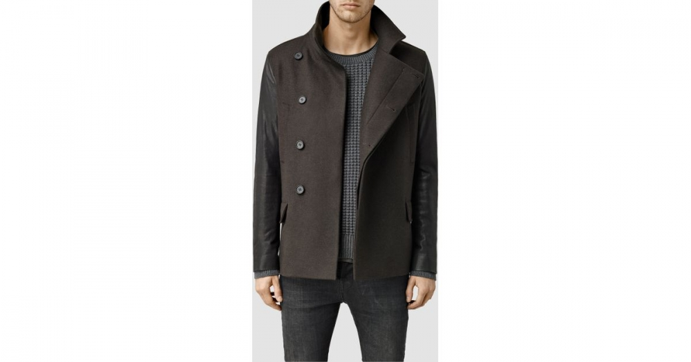 All Saints Pea Coat with