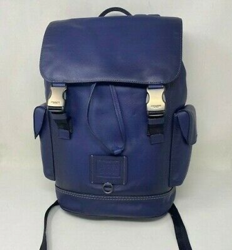 Coach New York Mens Rivington Backpack in Navy