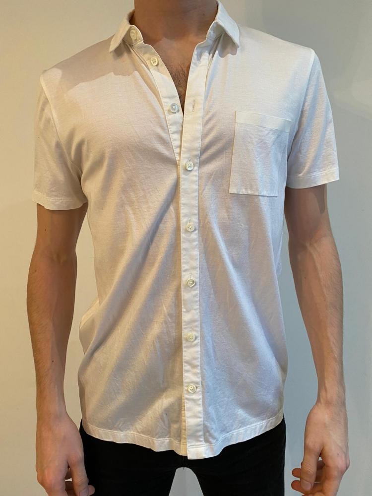 Hugo Boss White Short Sleeve Shirt