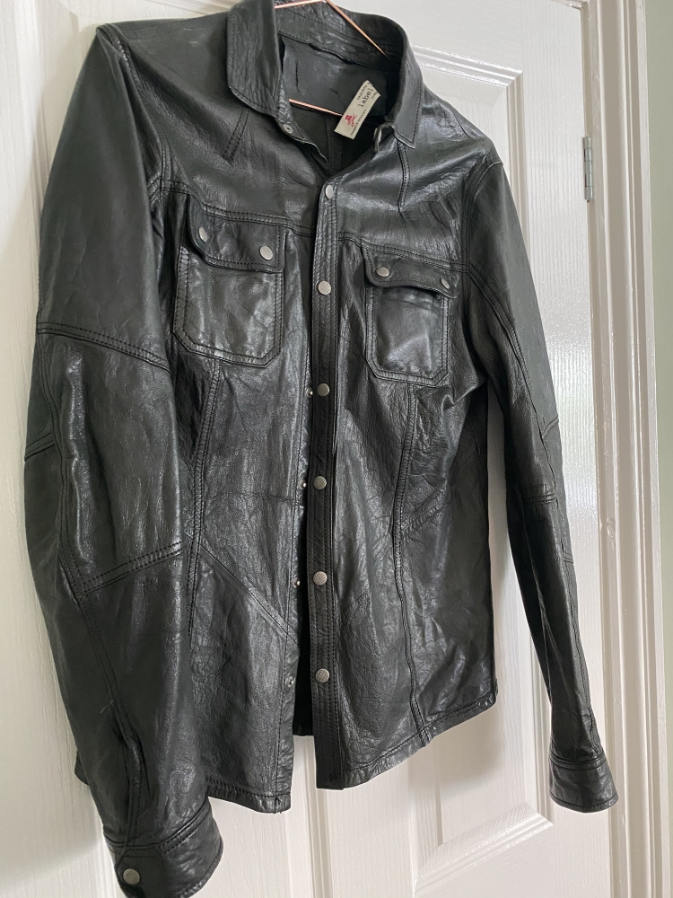Label Lab leather shirt