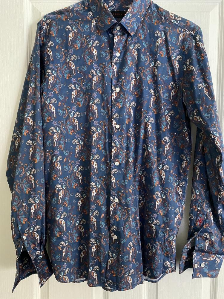 Lizard King paisley shirt