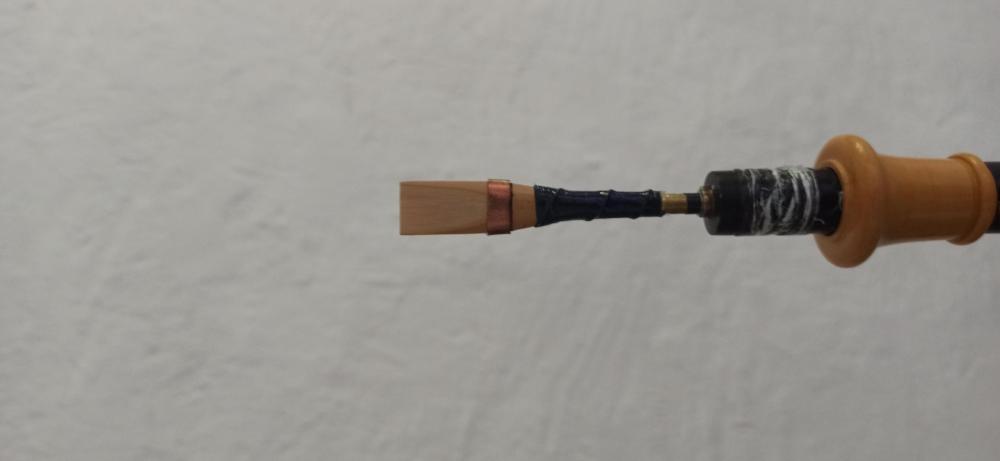 Uilleann pipes 3/4 set de Richard Patkos