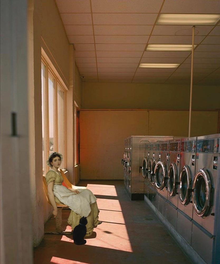 La laveuse lessivée