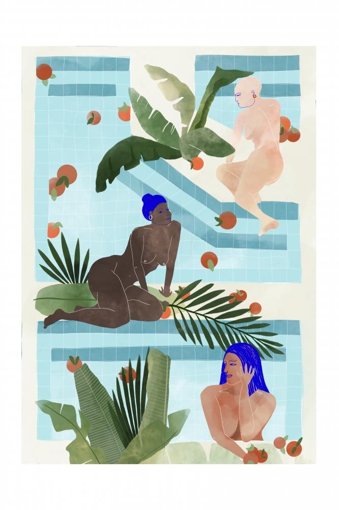 Le bain des femmes