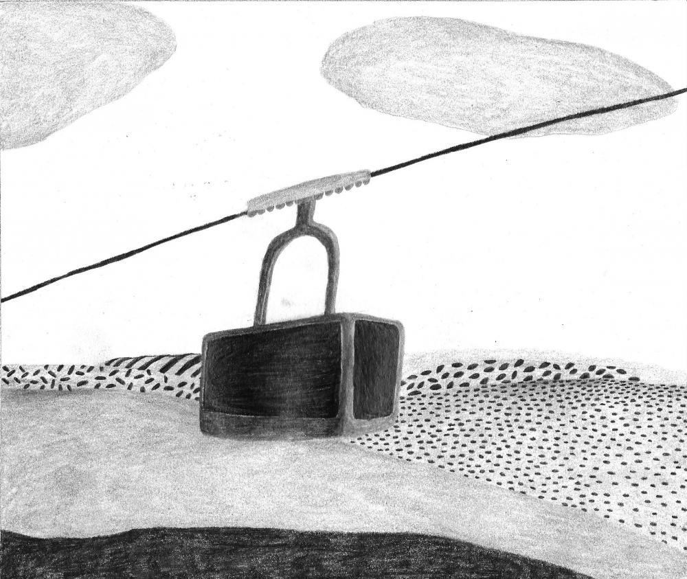 Illustration personnalisée à la mine de plomb
