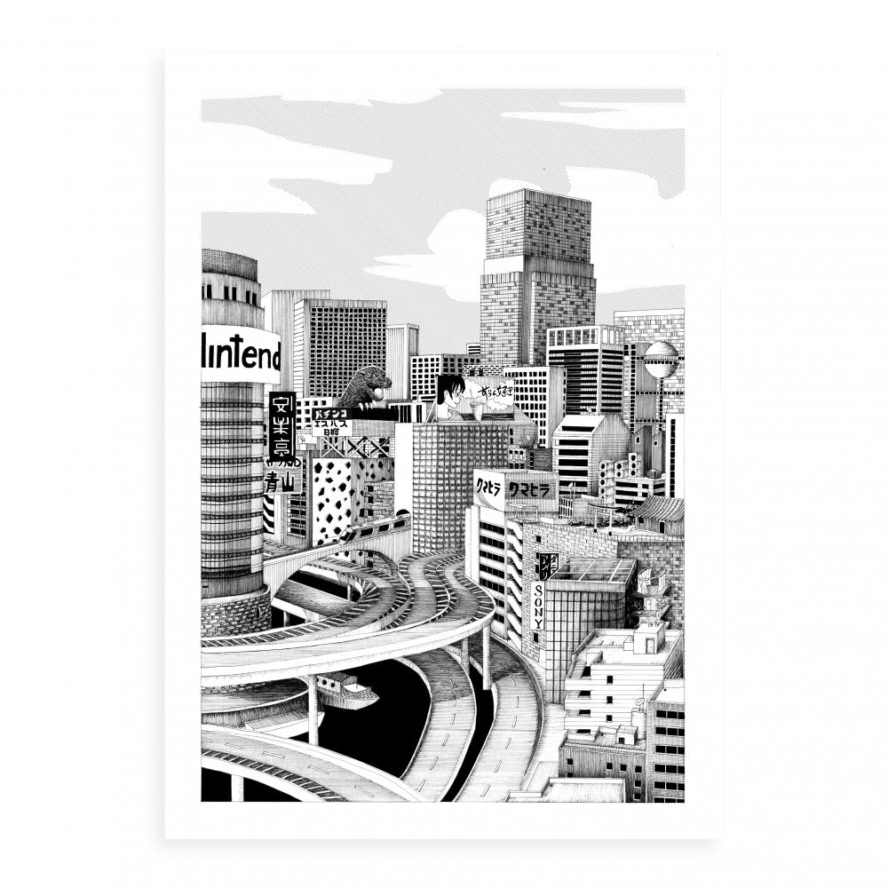 Tokyo jungle - Grey version