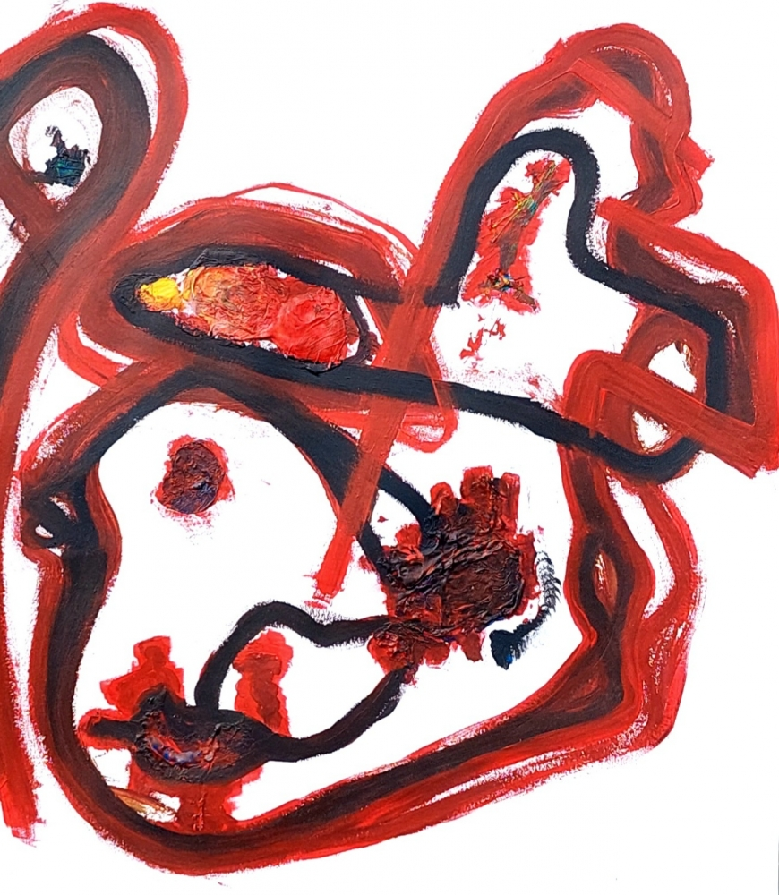 Sans titre - Composition abstraite
