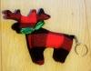 Porte-clés en tissu Cerf / Caribou