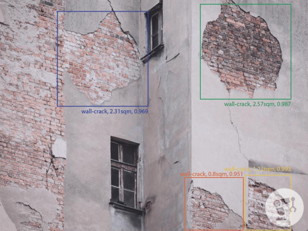 Building damage classification