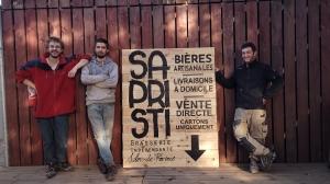 Portrait de Brasseur - Brasserie Sapristi