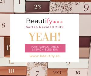 BEAUTIFY BASES LEGALES SORTEO NAVIDAD 2019
