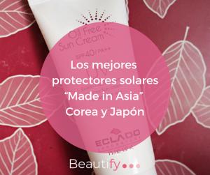 Los mejores Solares Cosmética Coreana K-Beauty