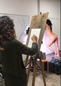 ON A TESTÉ POUR VOUS: Cours de dessin de nu avec modèle vivant!