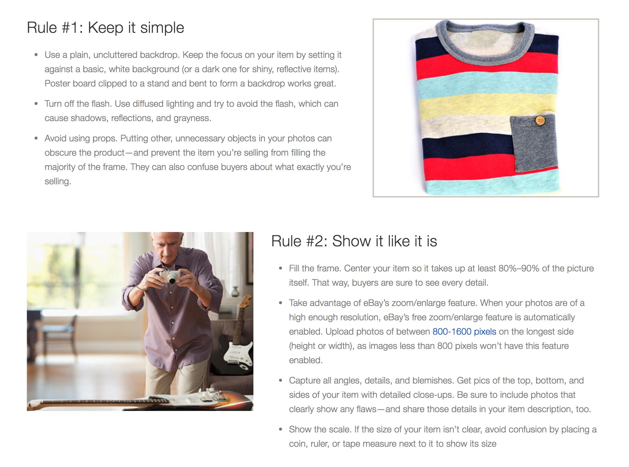 Ebay seller guide