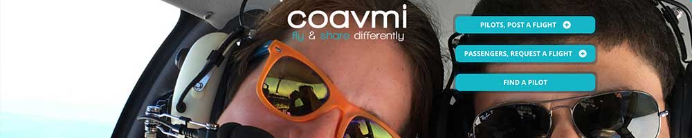 coavmi flight sharing marketplace