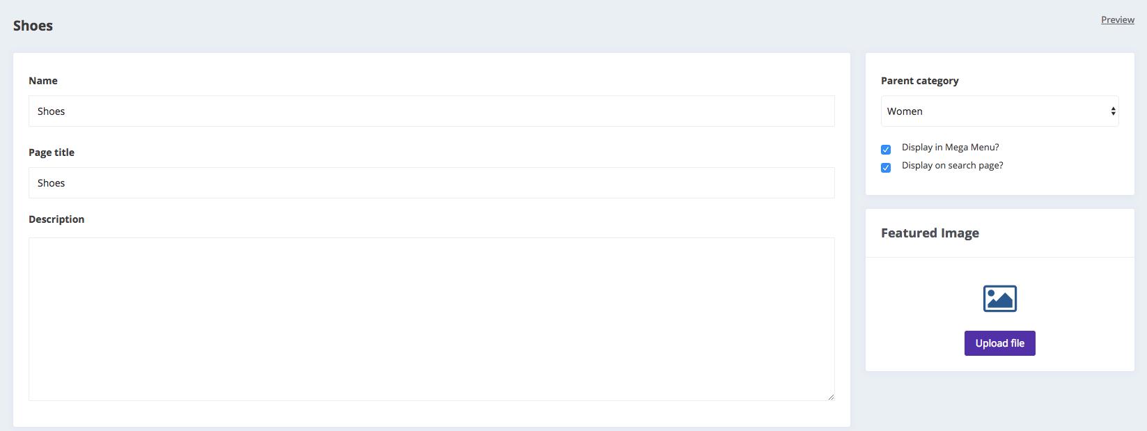 Edit listing category Kreezalid marketplace