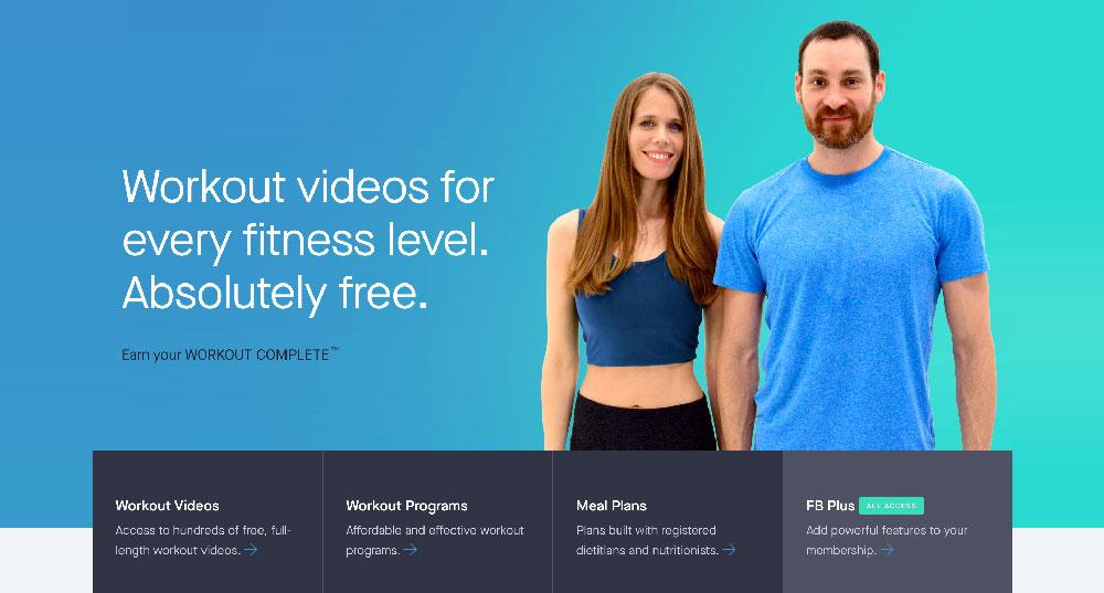 Fitness Blender Free online fitness courses