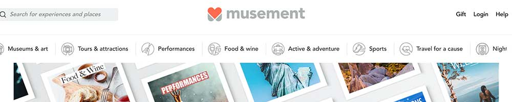 musement activities and tours marketplace