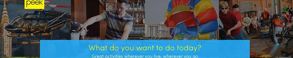 peek activities and tours marketplace