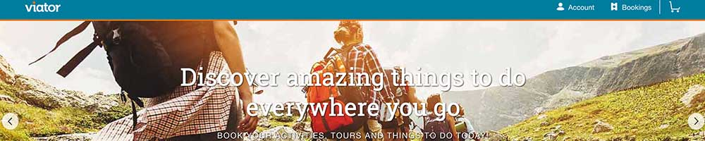 viator activities and tours marketplace