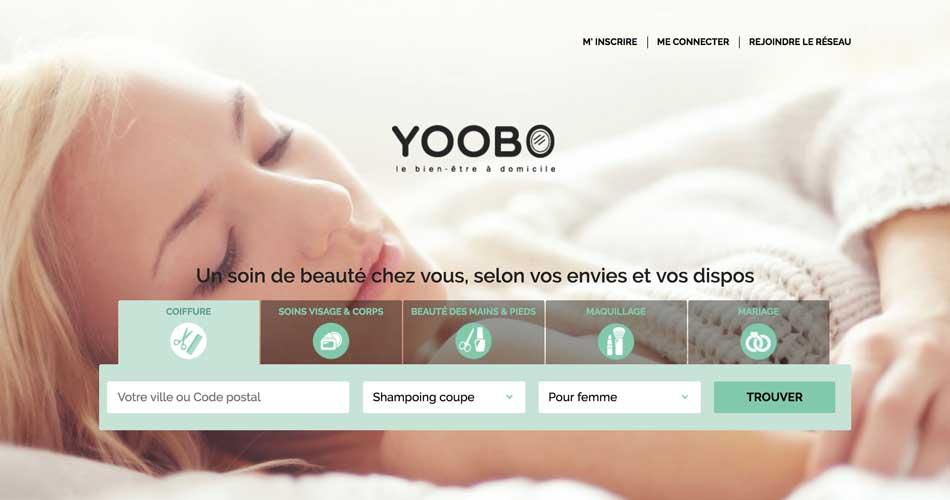 Yoobo marketplace beauté à domicile
