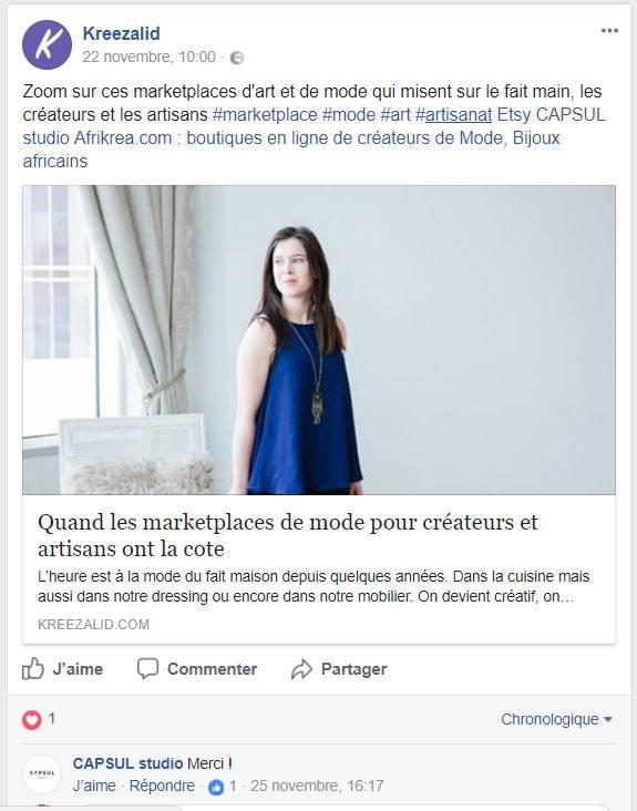 Facebook Kreezalid