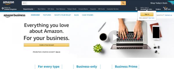 Amazon Business B2B marketplace