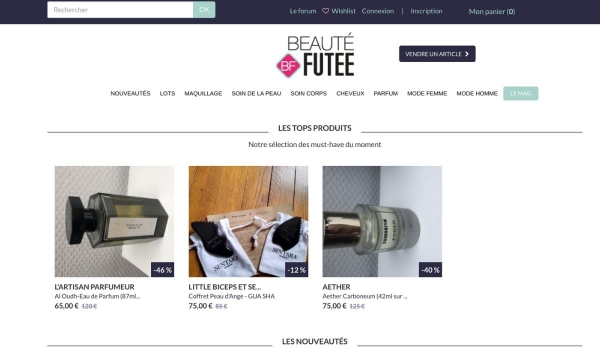 beaute futee P2P marketplace