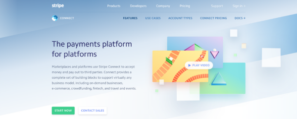 Stripe Connect payment solution