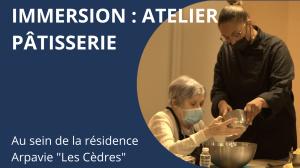 Immersion dans notre atelier de pâtisserie en Résidence Autonomie : prévention, plaisir et convivialité !