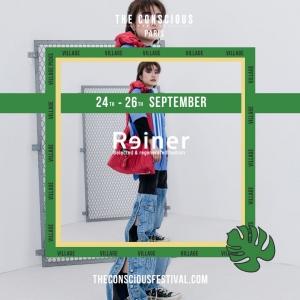 Reiner Upcycling sera présent au Conscious Festival x La Caserne
